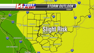 Slight risk tuesday